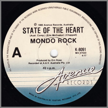 State Of The Heart by Mondo Rock