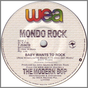 Baby Wants To Rock by Mondo Rock