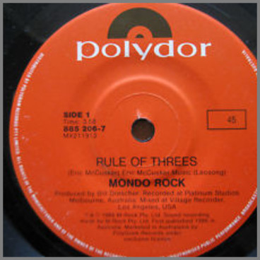 Rule Of Threes by Mondo Rock