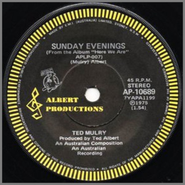 Sunday Evenings B/W Here We Are by Ted Mulry Gang (TMG)