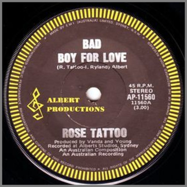 Bad Boy For Love by Rose Tattoo