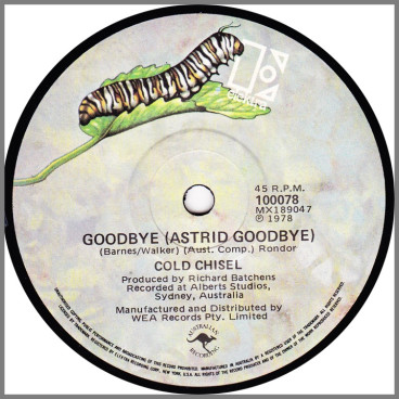 Goodbye (Astrid Goodbye) by Cold Chisel