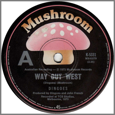 Way Out West by The Dingoes