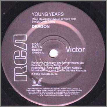 Young Years by Dragon