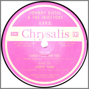 Since I Fell For You by Johnny Diesel & the Injectors