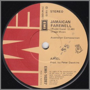 Jamaican Farewell B/W Red Hot Momma by Ariel