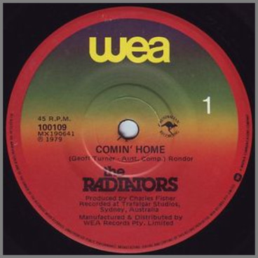 Comin' Home by The Radiators