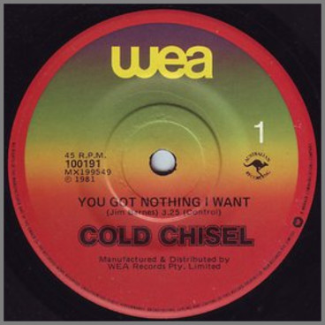 You Got Nothing I Want by Cold Chisel