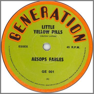 Little Yellow Pills B/W Sandman by Aesops Fables