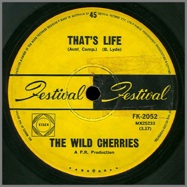 That's Life B/W Try Me by The Wild Cherries