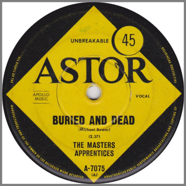 Buried And Dead by The Masters Apprentices