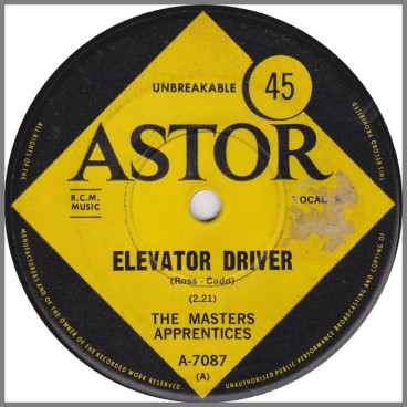Elevator Driver by The Masters Apprentices