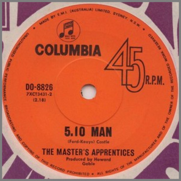 5:10 Man by The Masters Apprentices