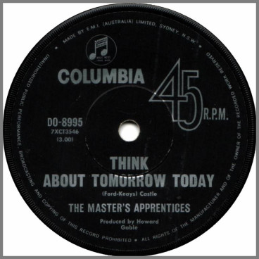 Think About Tomorrow Today by The Masters Apprentices