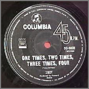 One Times, Two Times, Three Times, Four B/W Sailing by Zoot