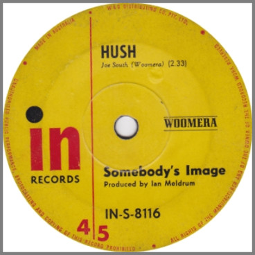 Hush B/W It's All Over Now Baby Blue by Somebody's Image