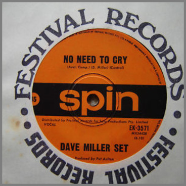 Does Anybody Really Know What Time It Is? B/W No Need To Cry by The Dave Miller Set