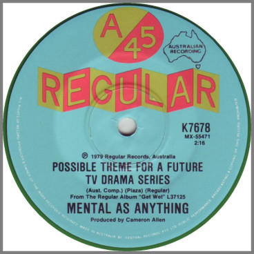 Possible Theme For A Future TV Drama Series by Mental As Anything