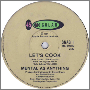 Let's Cook by Mental As Anything