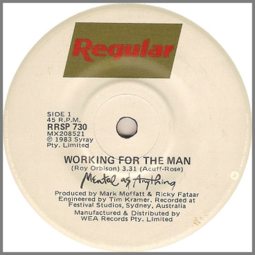Working For The Man by Mental As Anything