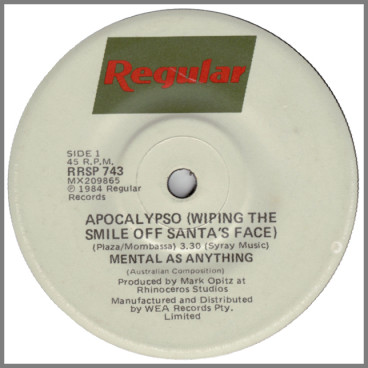 Apocalypso (Wiping The Smile Off Santa's Face) by Mental As Anything