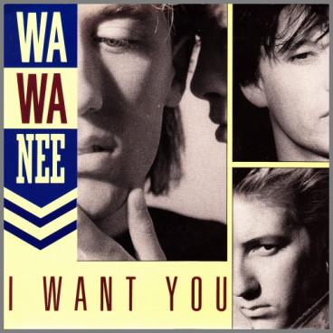 I Want You B/W When I See You Dancing by Wa Wa Nee