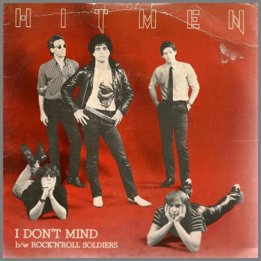 I Don't Mind B/W Rock & Roll Soldier by The Hitmen