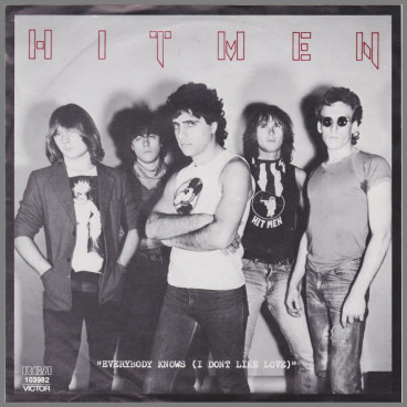Everybody Knows (I Don't Like Love) B/W Dancin' Time by The Hitmen