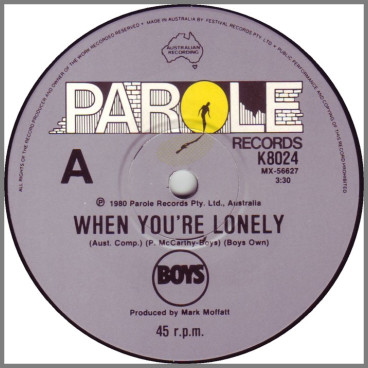 When You're Lonely by Boys