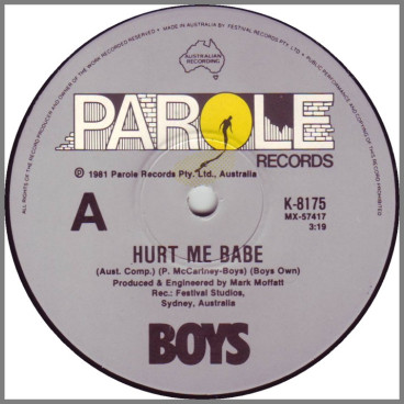 Hurt Me Babe by Boys