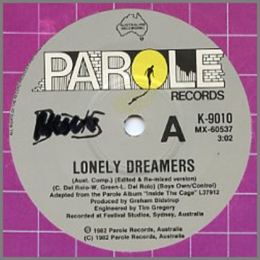 Lonely Dreamers B/W Cold Mind by Boys