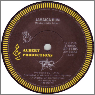 Jamaica Rum by Ted Mulry Gang (TMG)