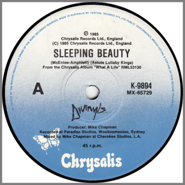 Sleeping Beauty B/W Motion by Divinyls