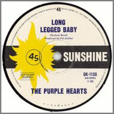 Long Legged Baby B/W Gloria by The Purple Hearts