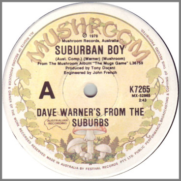 Suburban Boy by Dave Warner's From The Suburbs