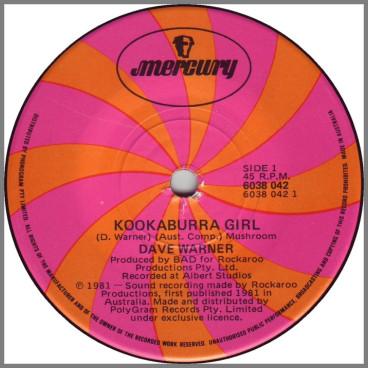 Kookaburra Girl by Dave Warner's From The Suburbs