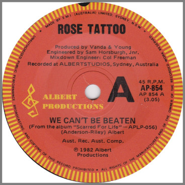 We Can't Be Beaten by Rose Tattoo