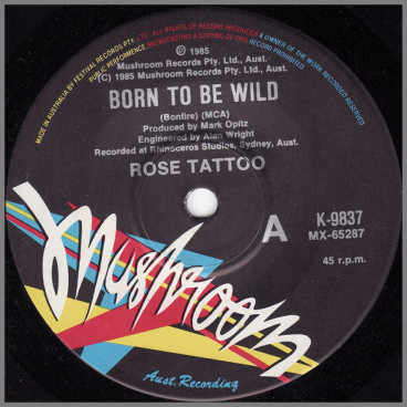 Born To Be Wild by Rose Tattoo