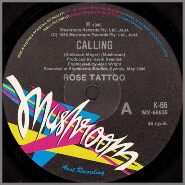Calling by Rose Tattoo
