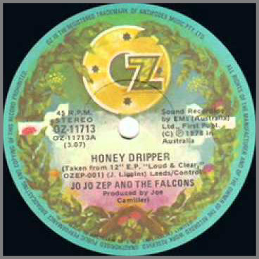 Honey Dripper by Jo Jo Zep and the Falcons