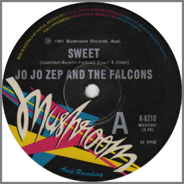 Sweet B/W Rub Up Push Up by Jo Jo Zep and the Falcons