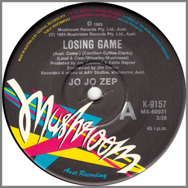 Losing Game B/W Slave For Love by Jo Jo Zep and the Falcons