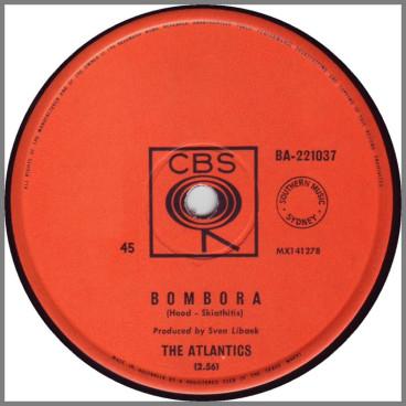 Bombora B/W Greensleeves by The Atlantics
