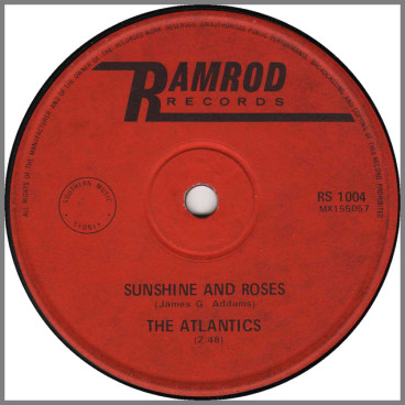 Sunshine And Roses B/W When I Look Into My Life by The Atlantics