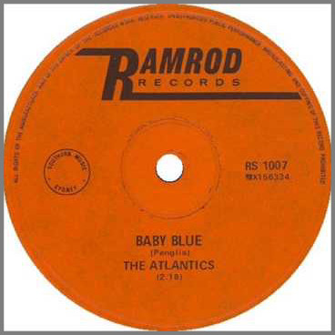 Baby Blue B/W A Girl Like You by The Atlantics