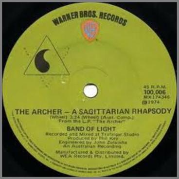 The Archer, A Sagittarian Rhapsody B/W Silis The Sun by Band Of Light