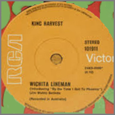 Wichita Lineman B/W Summer In The City by King Harvest