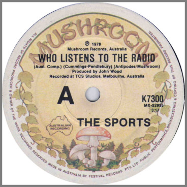 Who Listens To The Radio B/W So Obvious by The Sports