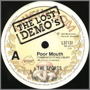 Poor Mouth B/W Heart Of Darkness by The Sports