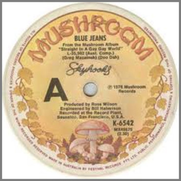 Blue Jeans B/W Mumbo Jumbo by Skyhooks